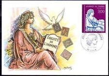FRANCE FDC - 1997 2 JOURNEE DU TIMBRE - 3052 - LYON -SUR CARTE POSTALE
