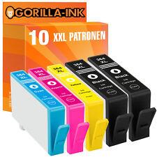 10 para HP 364 XL Deskjet 3070 a 3520 OfficeJet 4620 Photosmart 6510 b110a b210a