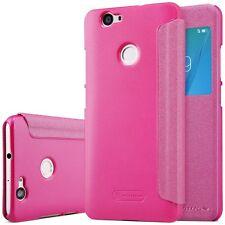 Premium Nillkin Smartcover Pink für Huawei Nova Tasche Hülle Case Schutz Neu Top