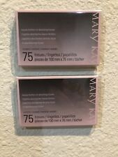 2 Pk. Mary Kay Beauty Blotters  Oil-Absorbing Tissues Total 150 Tissues