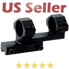 "UTG High Offset Airgun .22 Dovetail Scope Mount Stop Pin 1"" Aluminum Bidirection"