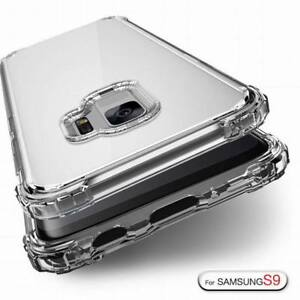 Hybrid Shockproof Soft Clear Case For Samsung Galaxy S9 S8 Plus S7 Phone Cover