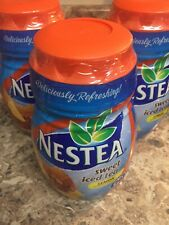 Nestea Sweet Iced Tea Mix Lemon 45.1 oz x 3 pack Sealed Exp 8/2020 Discontinued