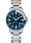 Hamilton Khaki Navy Scuba Auto Stainless Steel Men's Watch H82345141