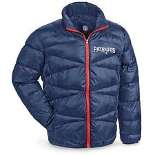 New England Patriots NFL Quilted Puffer Jacket Size Large