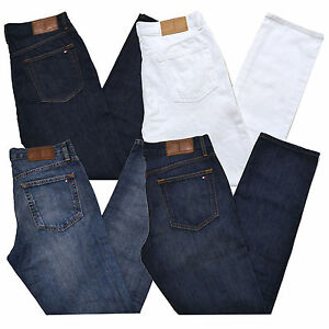 Tommy Hilfiger White Classic Jeans For Men For Sale Ebay
