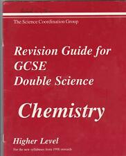 CHEMISTY REVISION GUIDE FOR GCSE DOUBLE SCIENCE HIGHER LEVEL
