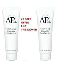2 X 100% genuine Nu skin AP-24 flouride whitening toothpaste 110g bargain sale