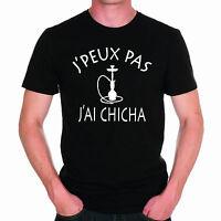 T-shirt HOMME J'PEUX PAS J'AI CHICHA