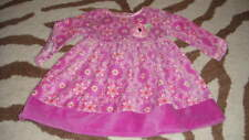 BOUTIQUE BABY LULU 12M 12 MONTHS GORGEOUS FLORAL DRESS