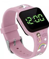 Potty Training Timer Watch Flashing Lights Music Tones Water Resistant Princess