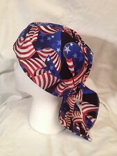 RIBBON FLAGS DOO RAG sdskullwear1