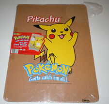 Pikachu Cork Board Pokemon NEW 17 x 23 Inches RoseArt 7843 Nintendo 1999 Game