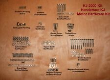 Henderson KJ Motorcycle - Motor Hardware Kit - Antique Reproduction