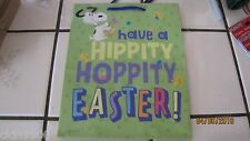 Hallmark easter gift bags ebay hallmark peanuts snoopy gift bag easter gift bag with tag medium size bag new negle Images