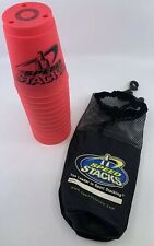 Speed Stacks - NEON PINK - WSSA Official Cups Set + Carrying Case -Stacking Game