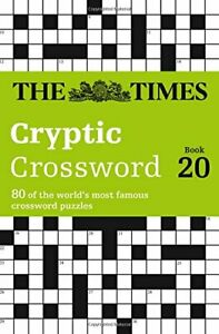 The Times Cryptic Crossword Book 20, Games, Browne 9780008139803 New..