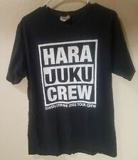 Gwen Stefani - Harajuku - Local Crew - Med Black Tour Shirt 2005