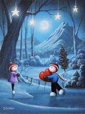 Scott Bateman original signed oil & acrylic painting art on canvas