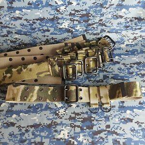 Russian Army Uniform Military Original Soldier Belt, SLING, MOSS COLOR