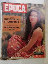 EPOCA 3 Novembre 1957 France Nuyen Christan Dior Anastasia Pietrangeli Khan di