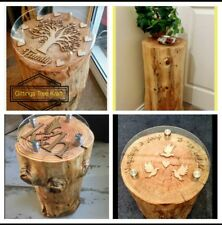 HAND MADE...Beautiful Bespoke & Totally Unique Tree Trunk Tables.
