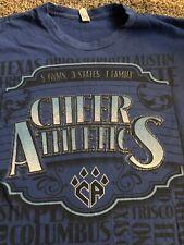 New listing Euc Cheer Athletics gym tee/next level apparel/adult large