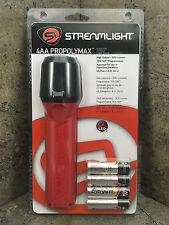 Streamlight 68822 ProPolymax 4AA LED Flashlight Orange Firefighter