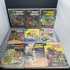 Magnus Robot Fighter Gold Key 1963 - Lot of 9 Books.