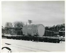 CC275 RP 1960s? SOU SOUTHERN RAILWAY FLAT CAR 50091 GE LARGE STEAM TURBINE