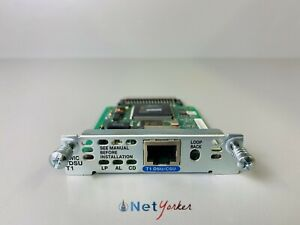 Cisco HWIC-1DSU-T1 - T1 DSU/CSU WAN Interface Card - SAME DAY SHIPPING