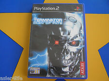 THE TERMINATOR DAWN OF FATE - PLAYSTATION 2 - PS2