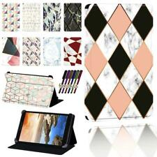 """Flip LEATHER STAND CASE COVER Fit Lenovo Tab 7"""" 8"""" 10"""" thinkpad Tablet + Stylus"""