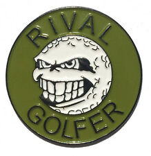 Rebellious Golf Ball Marker by Rival Golfer - Olive