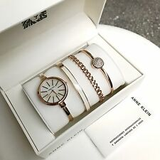 Anne Klein Watch * 1470RGST Rose Gold Pave Steel Gift Set for Women COD PayPal