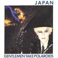 JAPAN gentlemen take polaroids (CD, album) new wave, synth pop, very good, 1980