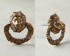 New Anthropologie Fabled Fauna Lion Pull / Knob,  King of the jungle~ Sold Out!