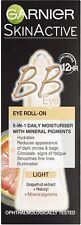 Garnier BB Eye Cream Roll-On | 5-in-1 Daily Moisturiser Concealer | Light 7ml