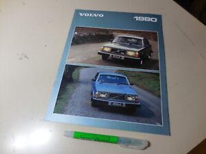 1980 VOLVO LINE UP Japanese Brochure 240/260