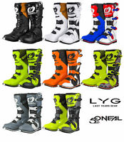 O'NEAL RIDER MX BOOTS MOTOCROSS ENDURO BOOT ADULTS QUAD SIZE 9