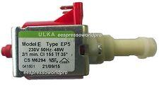 220V-230V Ulka EP5 Vibratory  Vibration Pump, GAGGIA, Rancilio Silvia, e.t.a.