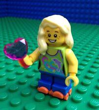 Lego City Town LADY ROLLERSKATER Roller Skates Skater Female Minifig Minifigure