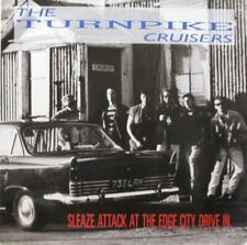 TURNPIKE CRUISERS - Sleaze Attack At The Edge City Drive In ~ VINYL LP