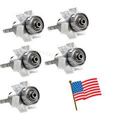 5pcs Dental high speed handpiece Turbine Cartridge Rator Large head Fit KAVO NSK