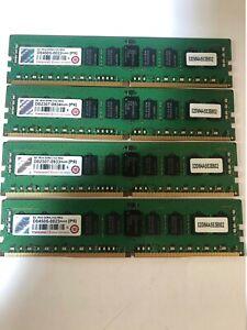 Transcend 32GB KIT 4X8GB DDR4 2133 REG Tested Working