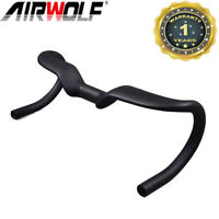 Road Bike Handlebar Carbon Fiber Racing Bicycle Handlebar 31.8mm Aero Bend Bar