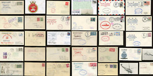 CANADA HMCS NAVY SHIPS COVERS..incl.WW2 Censored, Signed Commem etc. EACH PRICED