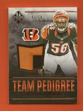 KARLOS DANSBY - 2017 Panini Majestic Red Team Pedigree Jersey #03/10 - Bengals