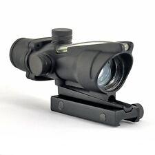 Green Fiber ACOG Style 1x32 Holographic Fiber Optical Collimator Sights Stock