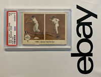 Ted Williams PSA 5 Boston Red Sox 1959 Fleer #36 Vintage Collector Card Yankees